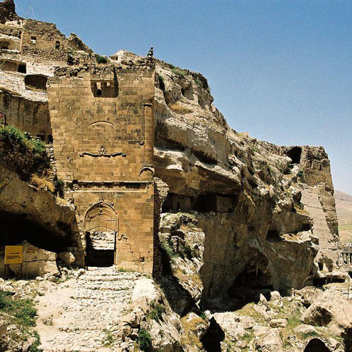 The castle Hasankeyf